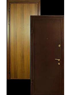 Двери ламинат металлические, входные порошок ДВ-2
