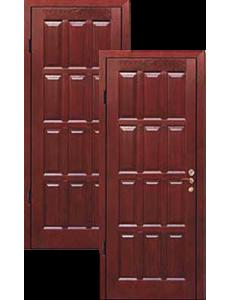 Двери коричневые массив дуба ДВ-2