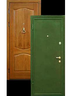 Двери массив дуба  порошковая покраска ДВ-1