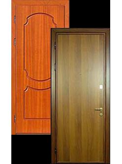Двери ламированные металлические МДФ ДВ-2