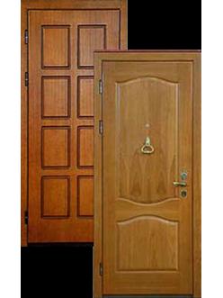 Двери МДФ металлические массив дуба ДВ-1