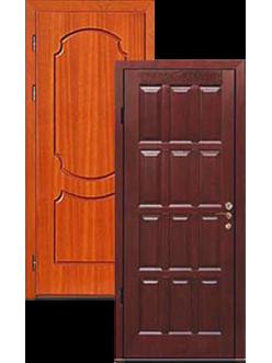 Входные двери ламинат МДФ массив дуба ДВ-2