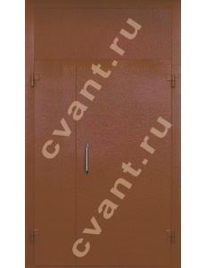 Подъездные двери глухие-2 (порошковая окраска)
