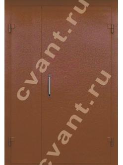 Подъездные двери глухие с порошковой окраской