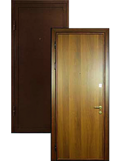 Двери ламинат порошок ДВ-2