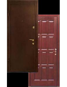 Двери массив дуба-порошок ДВ-2