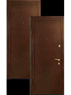 Двери металлические с порошковой покраской ДВ-2-6