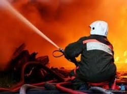 ликвидация пожара пожарной службой